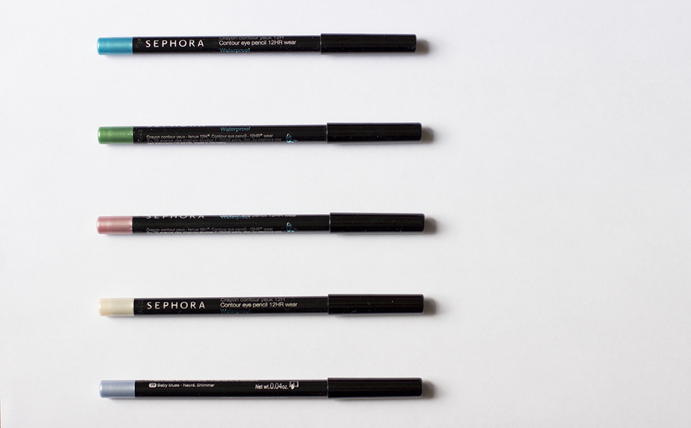 Crayons waterproof sephora yeux maquillage unblogbeaute