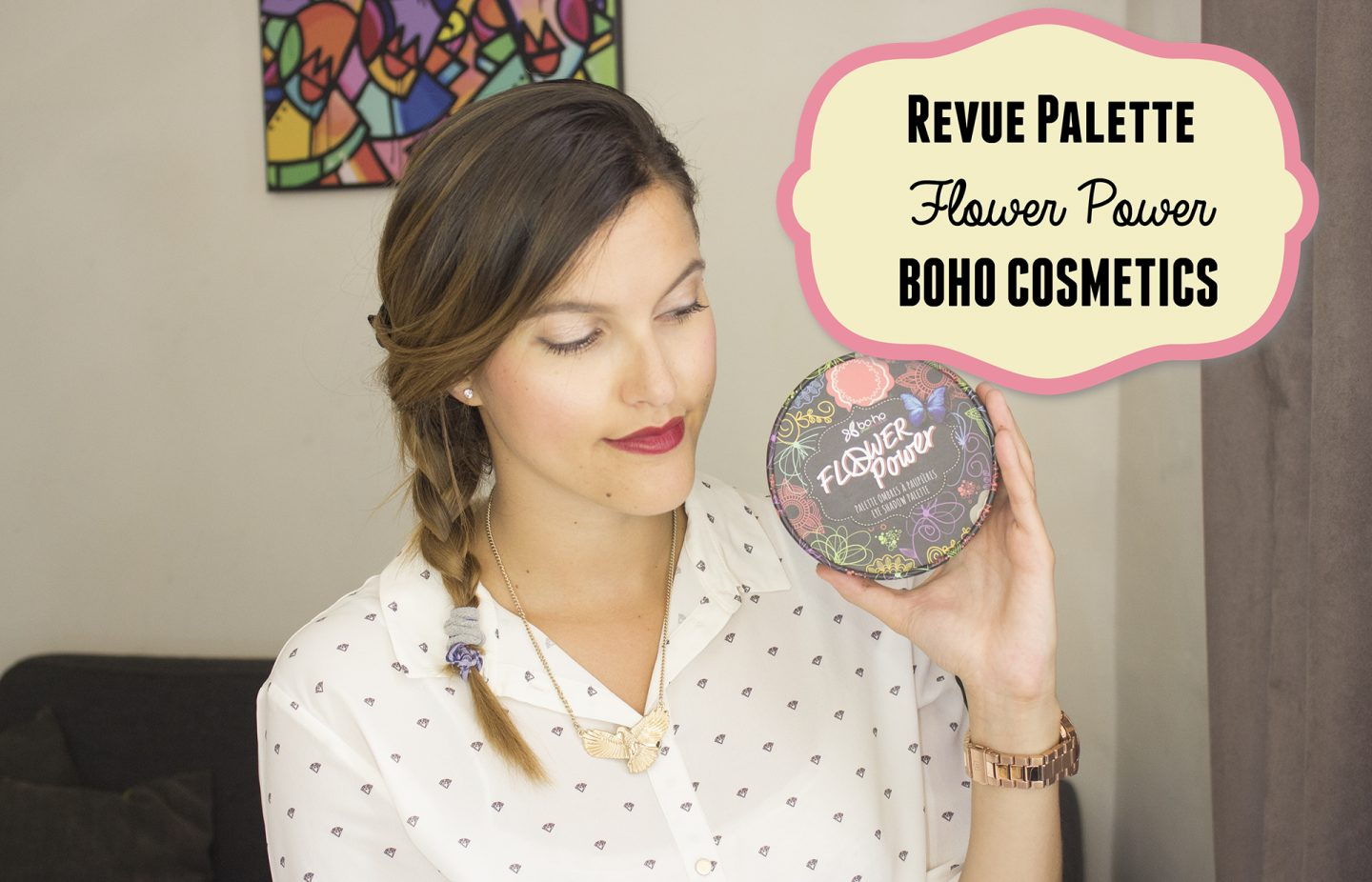Swatches et mini revue de la palette Flower Power, BOHO GREEN