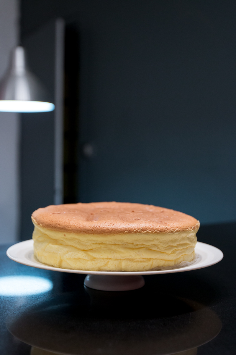 Recette du Cotton Japanese Cheesecake