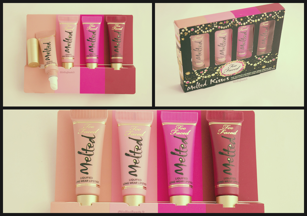 Idée Cadeau : Coffret Melted Kisses de TOO FACED