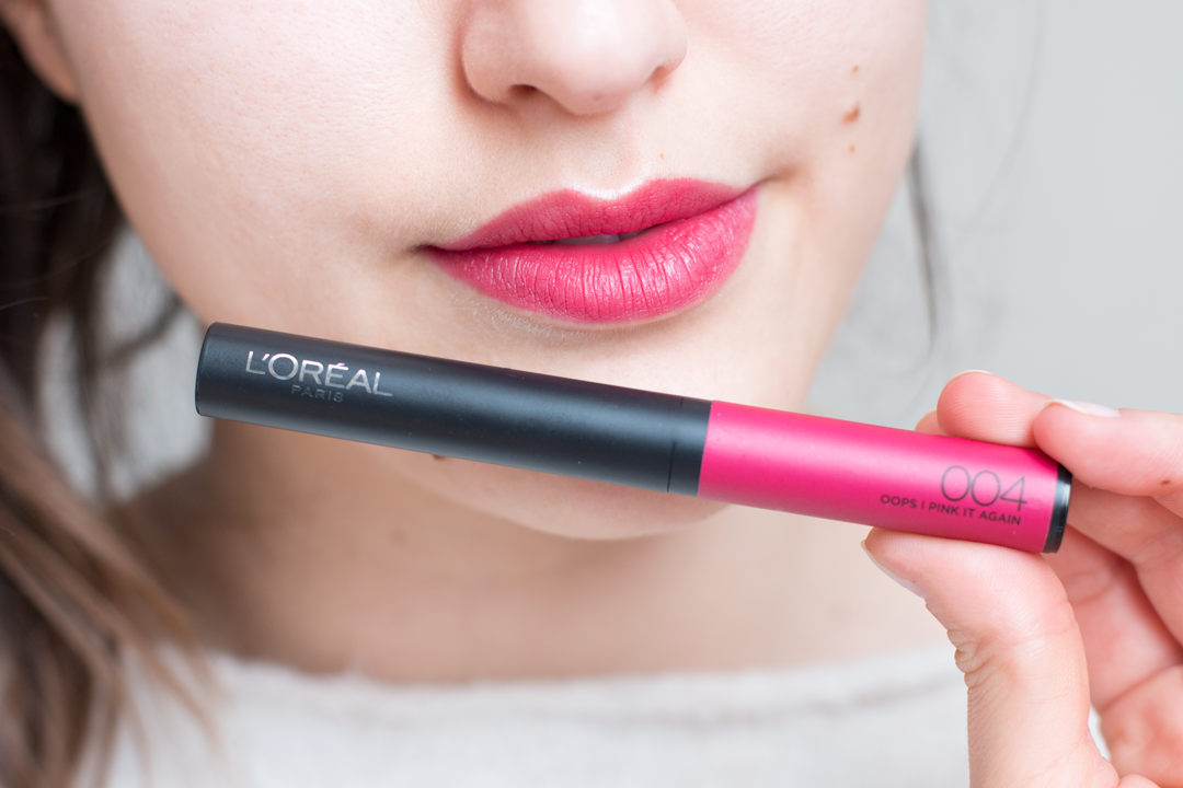 unblogbeaute-loreal-infaillible-matte-max-oops-i-pink-it-again-face